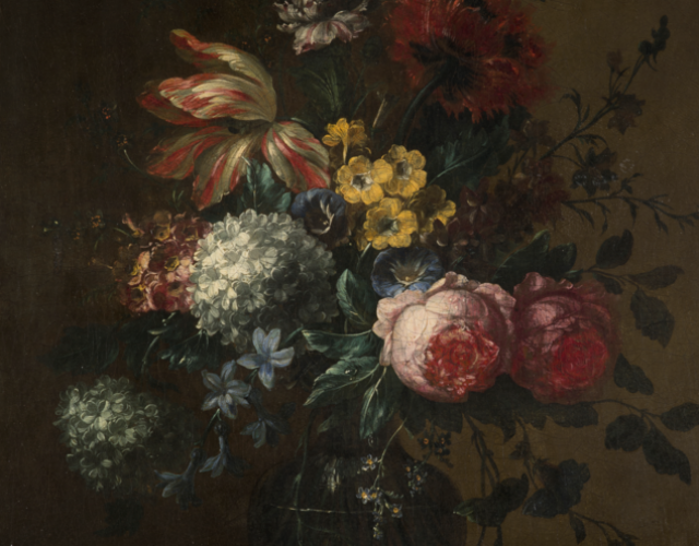 Still life with Flower in a vase